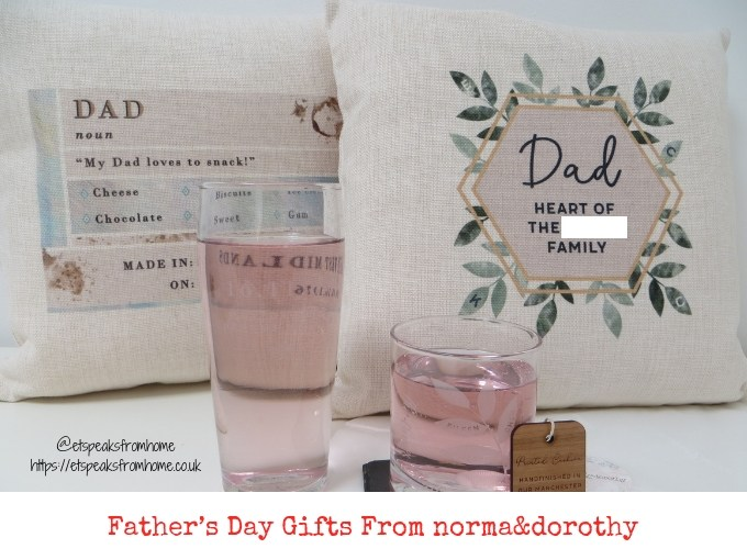 Father's Day Gifts From norma&dorothy