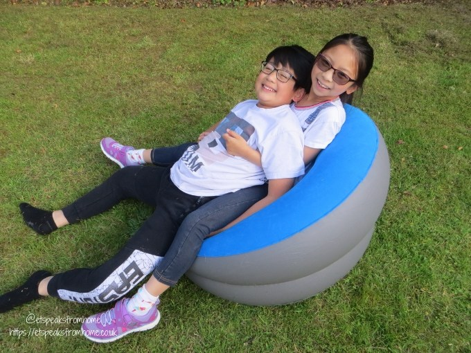 Garden Family Sleepover - Wild Night Out inflatable chair kids