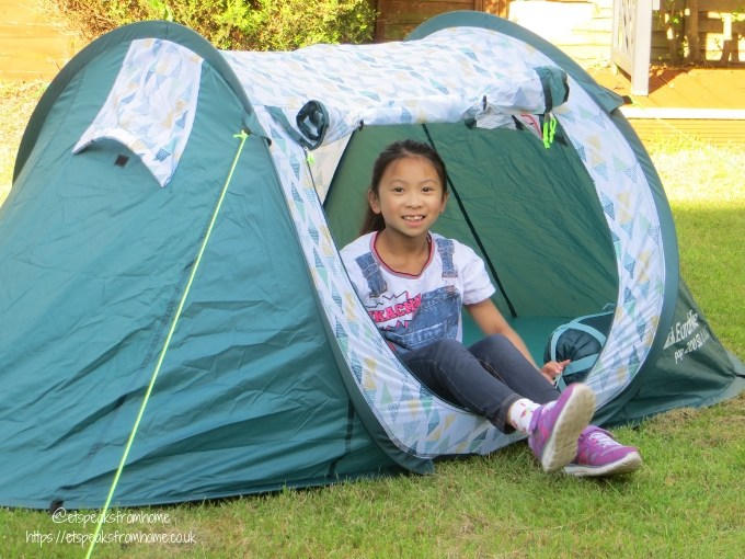 Garden Family Sleepover - Wild Night Out pop tent ms c