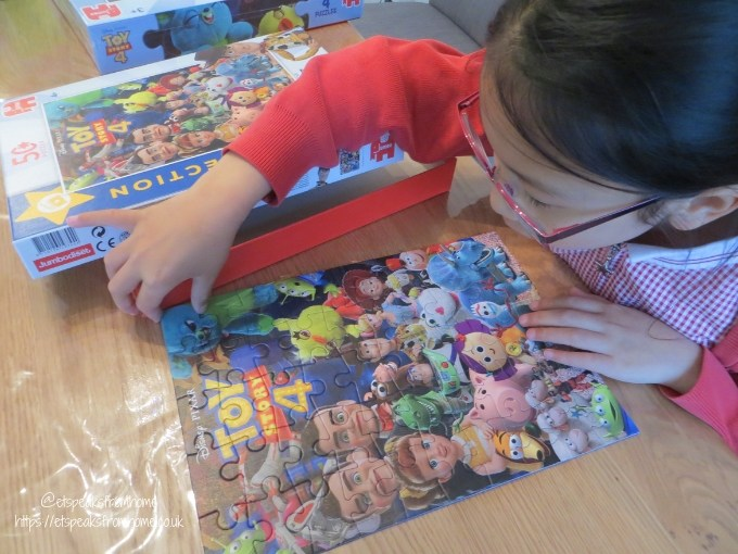 Jumbo Games Toy Story 4 Puzzles movie collection pieces