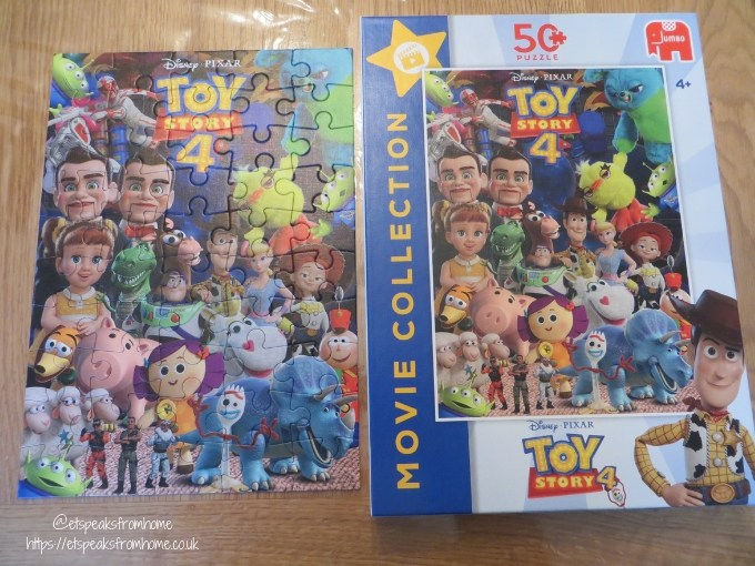 Jumbo Games Toy Story 4 Puzzles movie collection