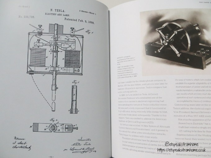 Tesla Biography Book illustrations