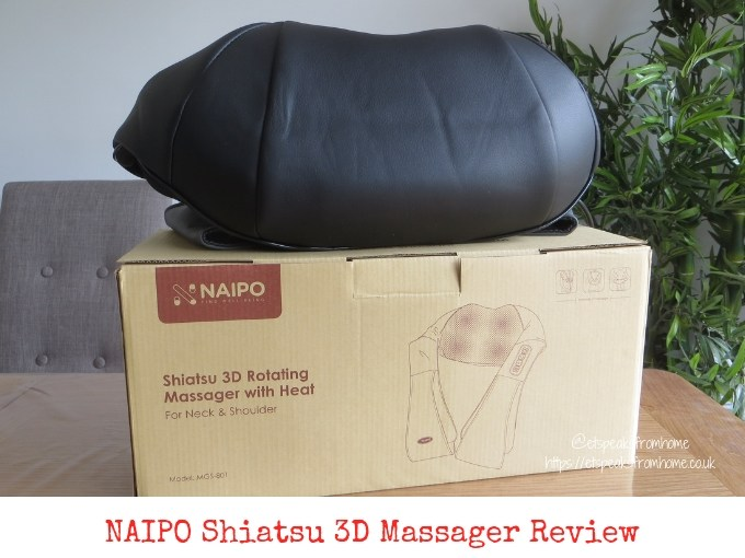 naipo shiatsu 3D Massager review
