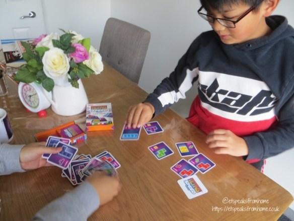 world tetris day speed card game playing