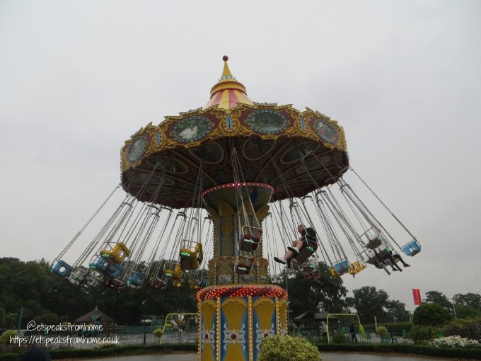 A Day at Wicksteed Park Carousel