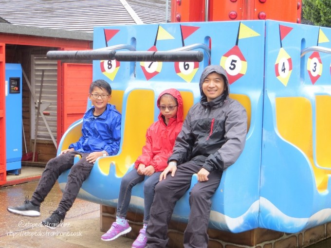 A Day at Wicksteed Park lighthouse