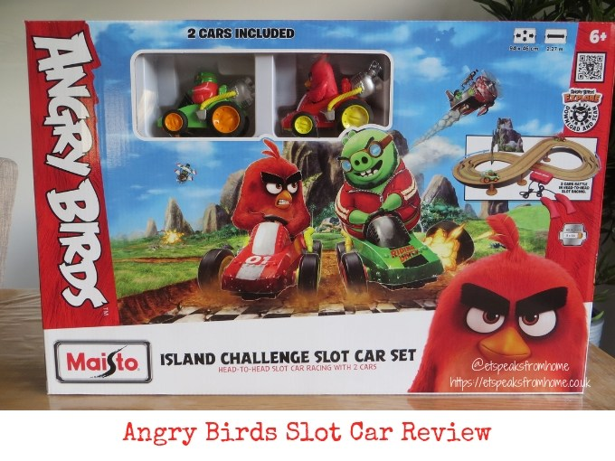 Angry Birds Island Challenge Slot Car review