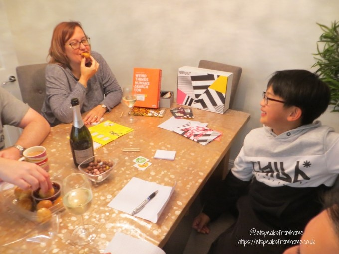 Games Night with giffgaff takeaway