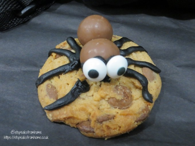 The Addams Family Movie spooky spider cookies