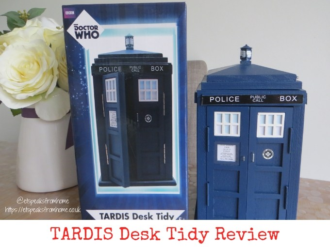 tardis desk tidy review