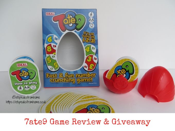 7ate9 Game Review & Giveaway