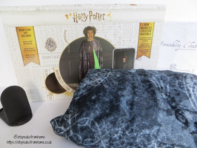 Harry Potter Invisibility Cloak print