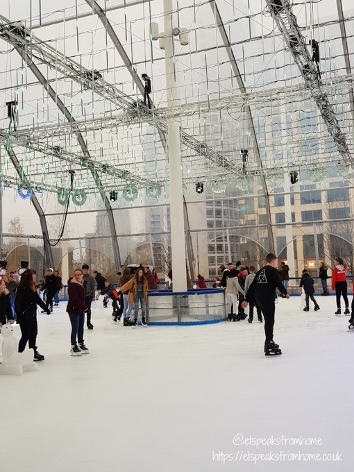 celebrate christmas in birmingham ice rink