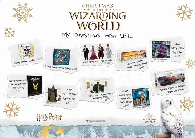 harry potter wishlist 2019