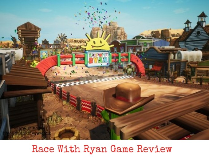 race with ryan review game