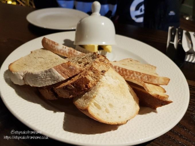 the green man pub bread