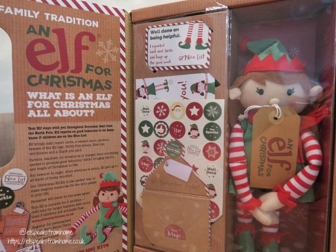Elf For Christmas Review girl