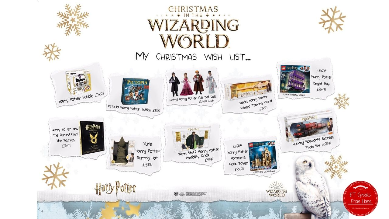 Harry potter top 10 christmas in the wizarding world