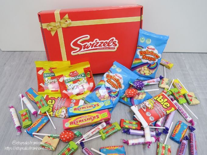 Swizzels retro red sweet hamper