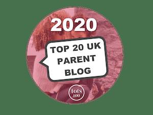 TOP 20 PARENT BLOGS 2020