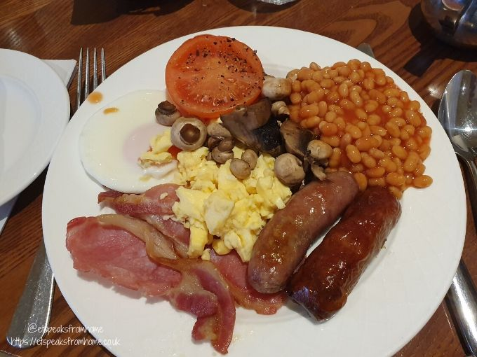 kettering park hotel & spa english breakfast