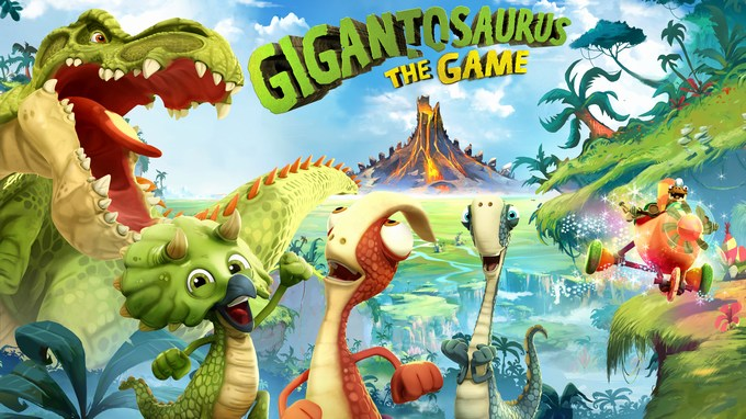 Gigantosaurus The Game blog Review