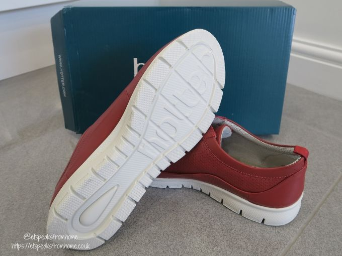 Hotter Shoes Gravity sole