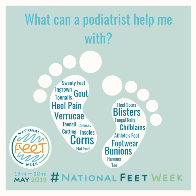 National Feet Week 2020 disease