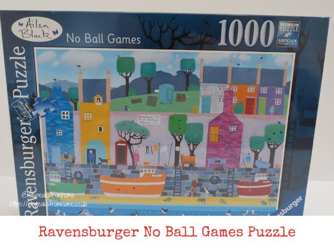 Ravensburger No Ball Game review