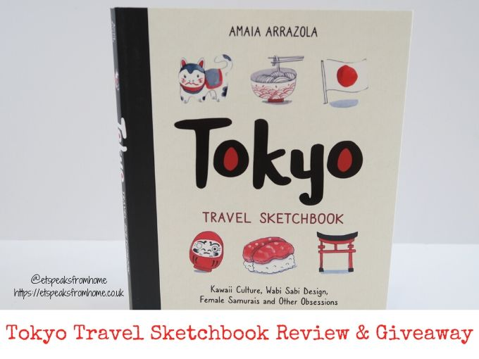 Tokyo Travel Sketchbook Review & Giveaway