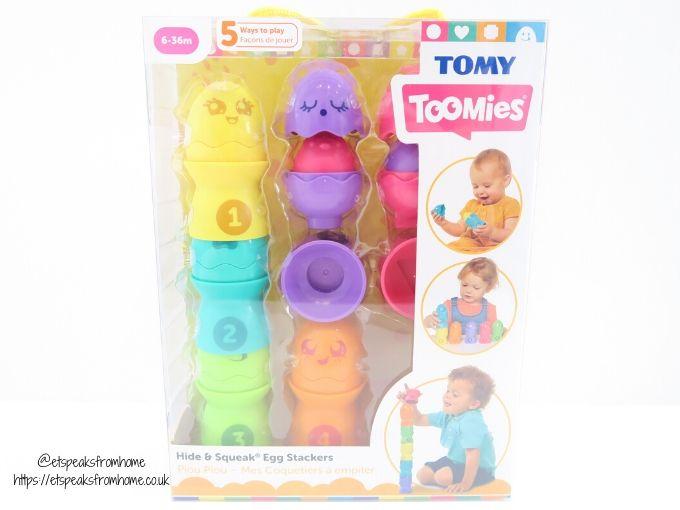 tomy toomies Egg Stackers