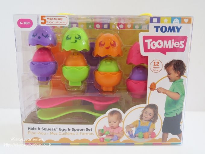 tomy toomies Egg and Spoon Set