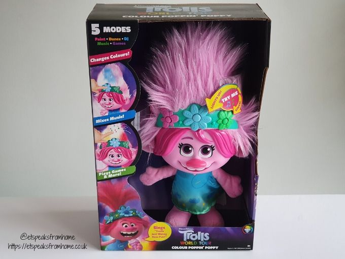 Trolls World Tour doll with sound