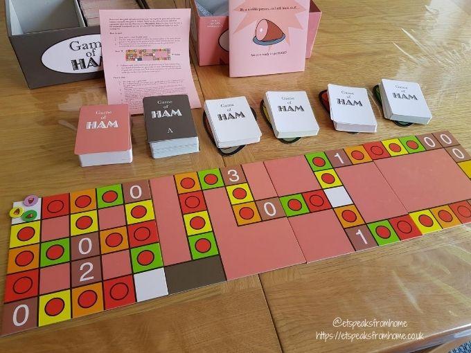 Game of HAM set up