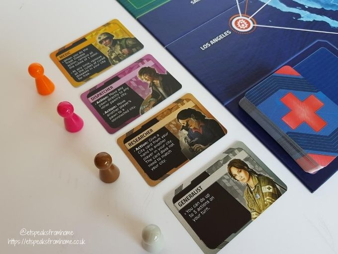 pandemic hot zone north america character cards