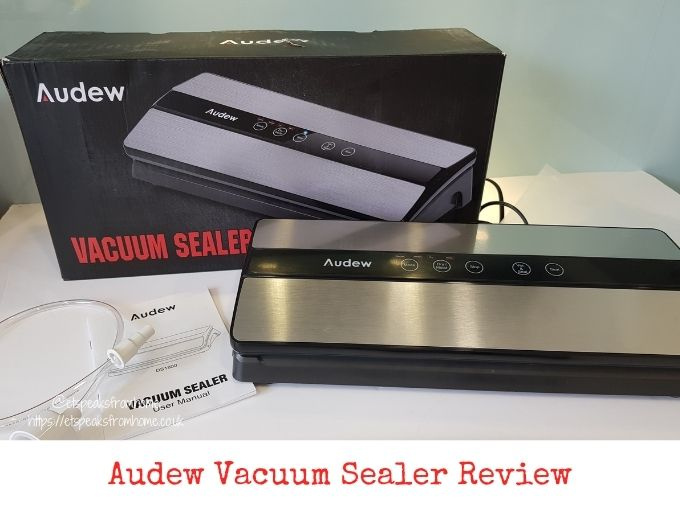 Audew Vacuum Sealer Review