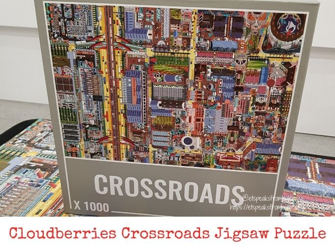 Cloudberries Crossroads Jigsaw Puzzle review