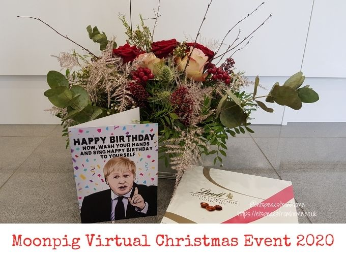 Moonpig Virtual Christmas Event 2020