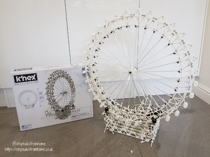 K'Nex Architecture London Eye model