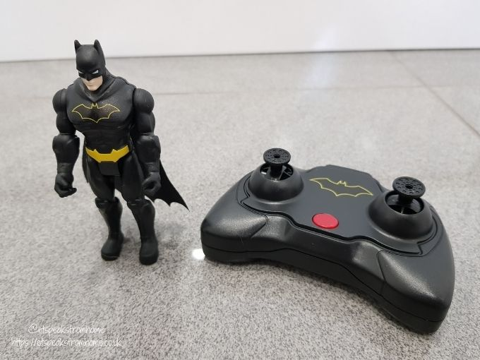 Launch and Defend Batmobile batman and controller