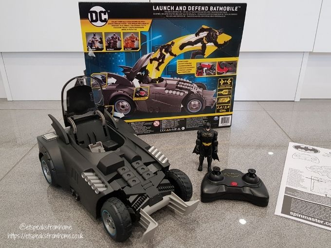 Launch and Defend Batmobile review