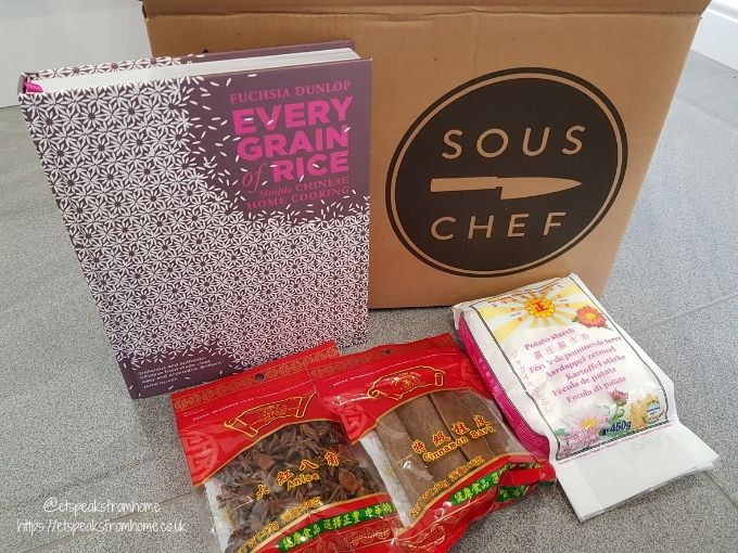 SousChef Authentic Chinese Cooking Set cookbook