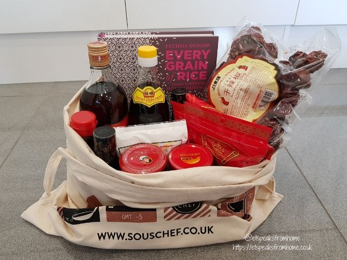 SousChef Authentic Chinese Cooking Set in bag
