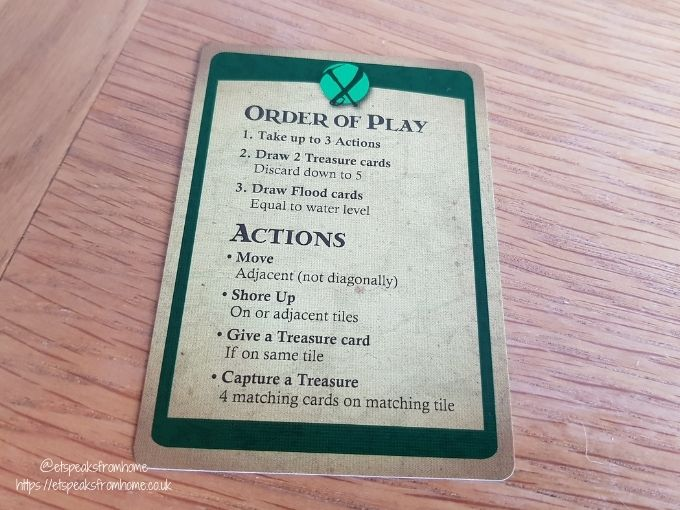 Forbidden Island instructions