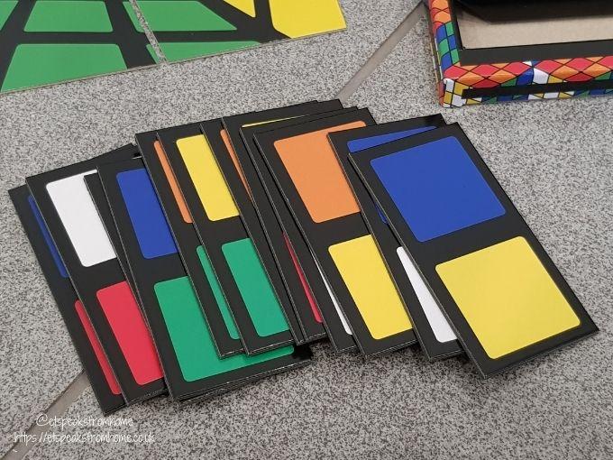 Rubik's Amazing Box of Tricks cards