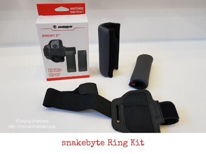 snakebyte ring kit review for nintendo switch