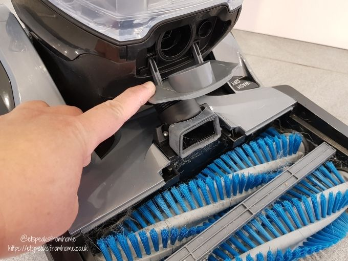 VAX Platinum SmartWash Carpet Washer cap