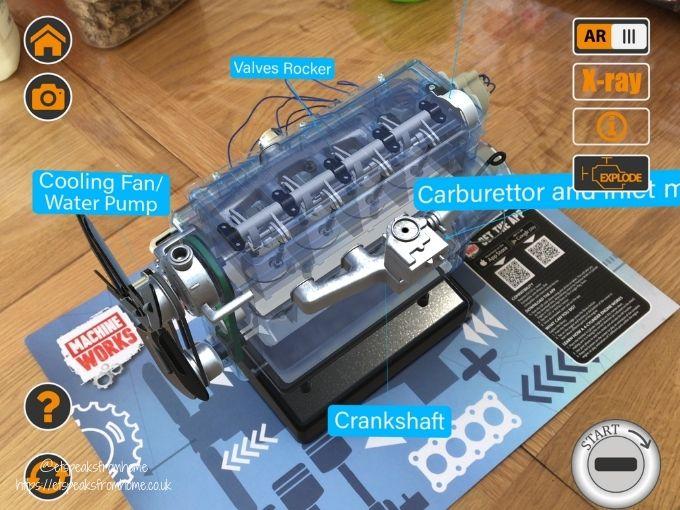 Haynes 4 Cylinder Engine AR app