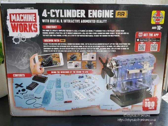 Haynes 4 Cylinder Engine AR box