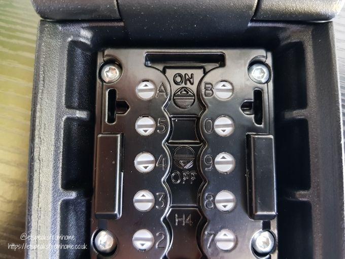 Key Safe Supra P500 code changing